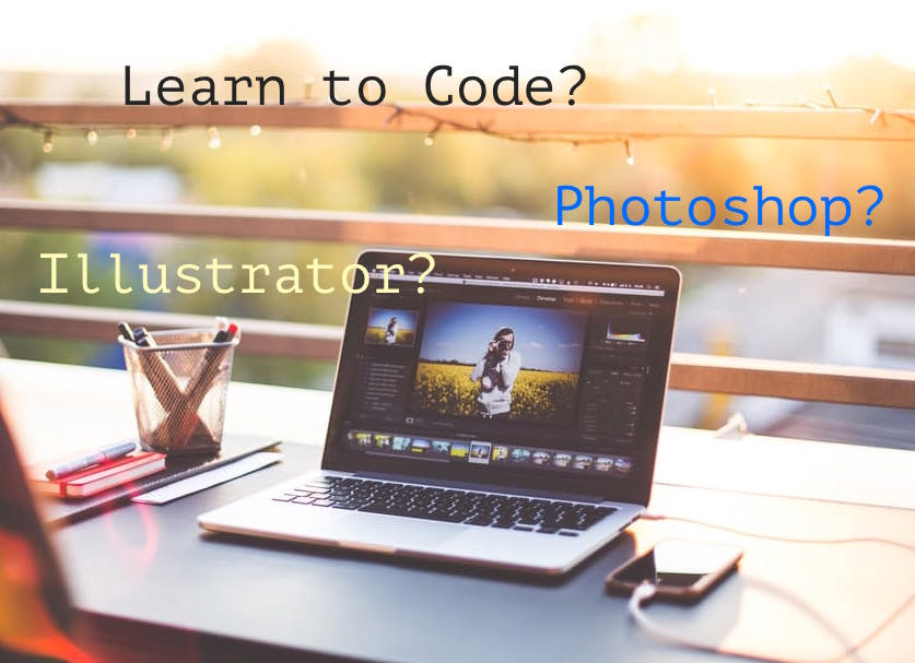 learn to code | learn photoshop | adobe illustrator course | user experience course